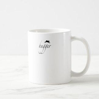 Bunny hugger coffee mugs