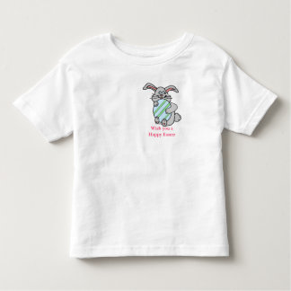 Bunny Hugging An Egg Toddler T-shirt