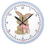 Bunny Hugs Clock 2