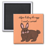 Bunny Humour Refrigerator Magnets