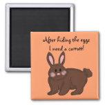 Bunny Humour Refrigerator Magnets