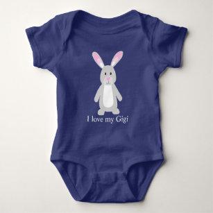 2cc8554a7 Bunny, I love my Gigi Baby Bodysuit