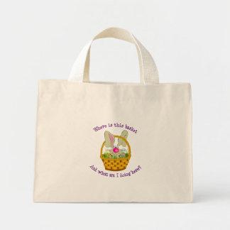 Bunny in a Basket Easter Gift Bag