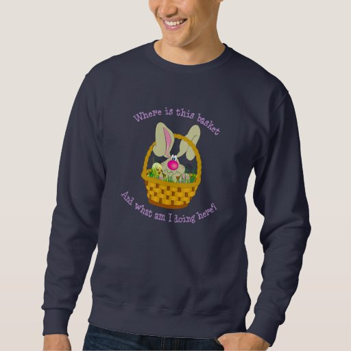 Bunny in a Basket Easter Shirt