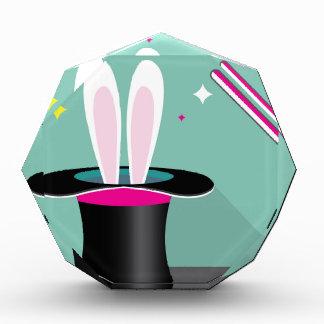 Bunny in a hat magic award