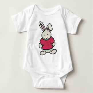 Bunny in a Red Shirt