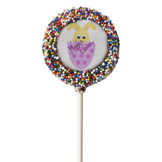 Bunny in an Easter Egg Chocolate Covered Oreo Pop