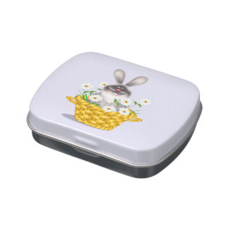 Bunny in Basket Jelly Belly Tins