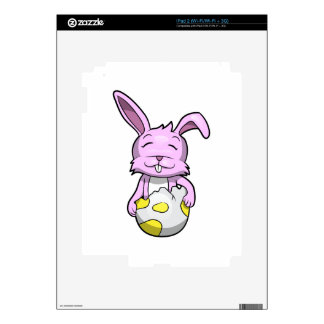 Bunny in Easter Egg Decal For iPad 2