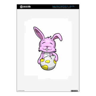 Bunny in Easter Egg Decals For iPad 3