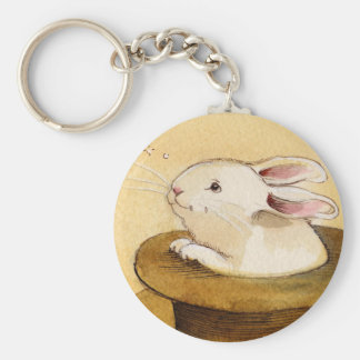 Bunny in Magic Hat Key Chains