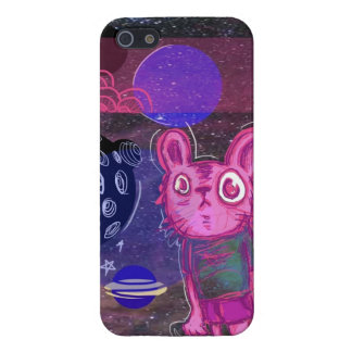 Bunny in space iPhone 5 case