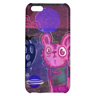 Bunny in space iPhone 5C cases