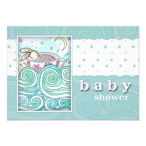 in teacup baby shower invitations 5 x 7 invitation card zazzle