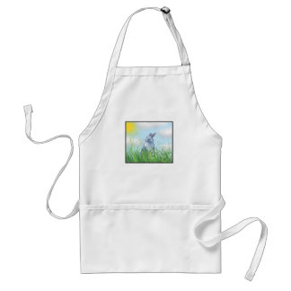 Bunny in the Grass Aprons