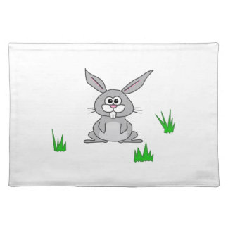 Bunny in the Grass Cloth Placemat