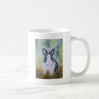Bunny in the Grass Coffee Mug