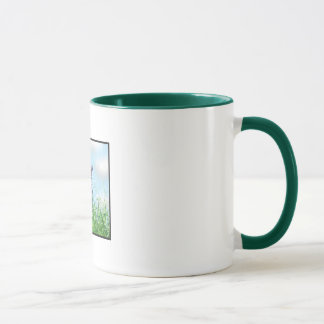 Bunny in the Grass Mug