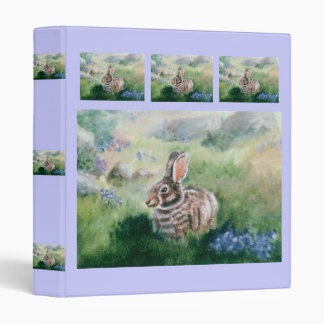 Bunny In the Meadow Binder