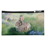 Bunny In the Meadow caseable case Cosmetics Bags