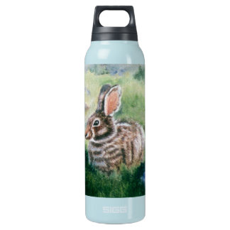 Bunny In the Meadow  Insulated Water Bottle