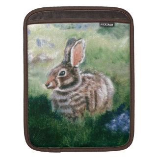 Bunny In the Meadow  iPad Sleeves