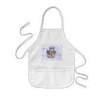 Bunny In The Snow Apron