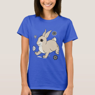 Bunny in the Snow Non-Denominational T-Shirt