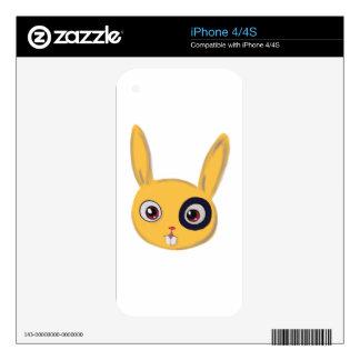 Bunny iPhone 4 Decals