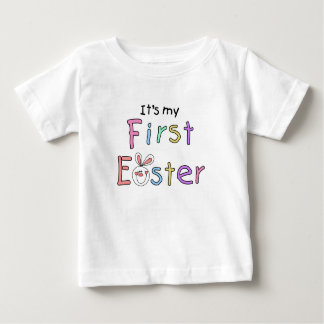 Bunny It's My First Easter Tshirt