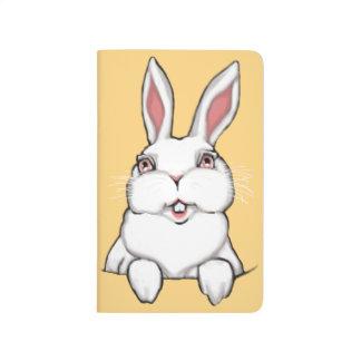 Bunny Journal Custom Easter Bunny Rabbit Notebook