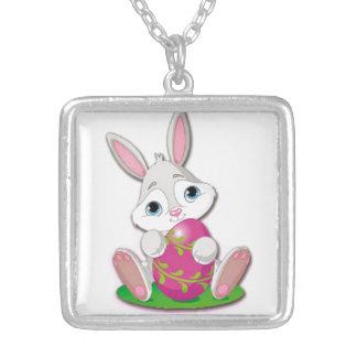 Bunny Joy Silver Plated Necklace