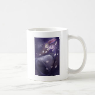 Bunny jump out in to the sky climb up coffee mug