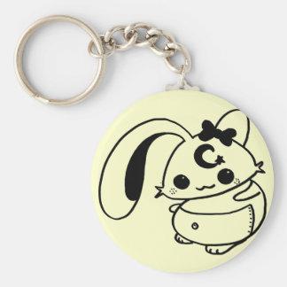 bunny kawaii doll keychain