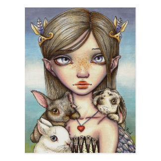 Bunny Keeper Postcard