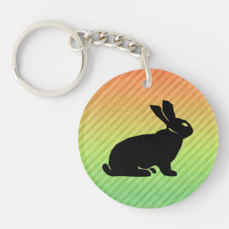 Bunny Acrylic Key Chain