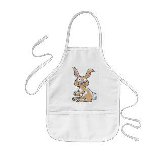 Bunny kids apron