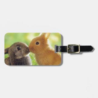 Bunny Kiss Bag Tag