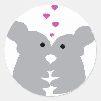 bunny kiss icon stickers