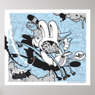 Bunny Kitty and Jersey Joe Poster