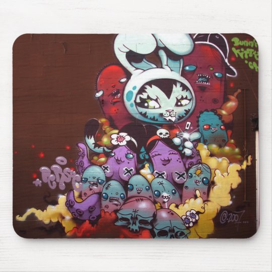 Bunny Kitty Mouse Pad 2
