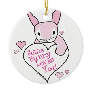 Bunny Love Ornaments