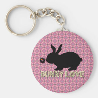 Bunny Love Design Key Chain