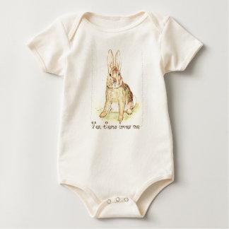 Bunny Love Infant ware Baby Bodysuit