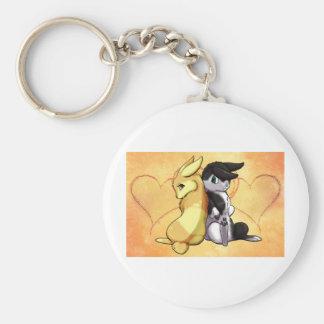 Bunny Love Keychain