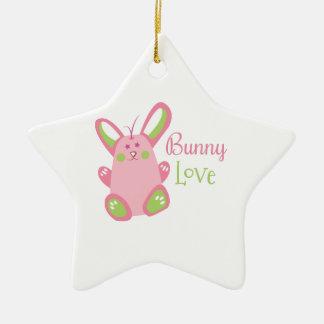 Bunny Love Christmas Ornament