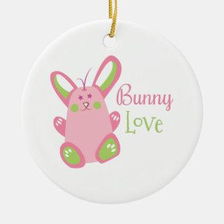 Bunny Love Christmas Tree Ornaments