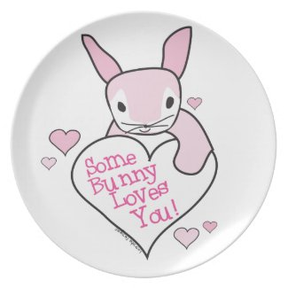 Bunny Love Party Plates