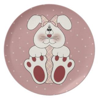 Bunny Love Plate