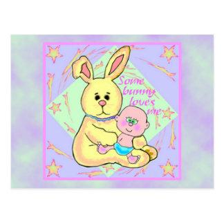 Bunny Love Postcard